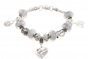 Special Sister 30th Birthday Charm Bracelet with Gift Box Women's Jewellery