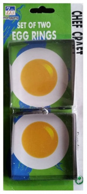 Standard Quality Durable Stainless Steel Fried Frier Oven Poacher Pan Cake Omlet Egg Ring Mould For Regular Use [ Square ]