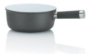"""Kela """"Meyrin"""" Cheese Fondue Pan, Cast Aluminium, Grey, 1 Litre"""