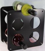 5 Bottle Wine Rack Beautiful Gift Wine Bottles Storage 5 Colours