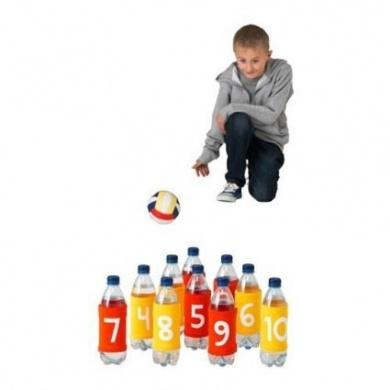 Elasticated Bands for Water Bottles Skittles Outdoor Games By Lattjo