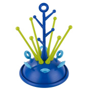 Yunt Tree Shape Useful Baby Infant Bottle Dryer Rack,Sprout Drying Rack for Baby Bottles Nipples Cups etc
