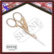 Full Gold Embroidery Scissors And Cross Stitch SewingFull Gold Embroidery Scissors And Cross Stitch Sewing