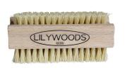 Extra Tough Wooden Nail Brush with Stiff Cactus Bristles