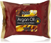 Beauty Formulas Argan Oil Cleansing Facial Wipes 30 Wipes