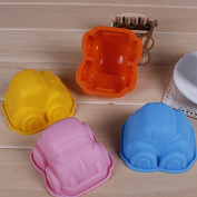 Car Mould Cake Mould Cookie Cutter Fondant Bakeware Tools Silicone Random home