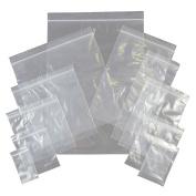 100 Grip Seal Bags 8.9cm x 11cm 200g Strong Reusable Zip Lock by sent 4 u ltd
