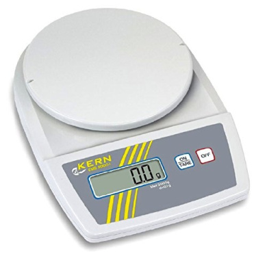 Entry level laboratory balance with tremendous weighing performance [Kern EMB 1000-2] Precision up to 0,01 g, Weighing range max. 1000 g