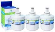 3x AH-S3F Compatible water filter for for Samsung fridge DA29-00003F, HAFIN1/EXP, DA97-06317A-B, Aqua-Pure Plus, DA29-00003A, DA29-00003B