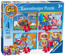 Ravensburger Go Jetters 4 in a Box (12, 16, 20, 24pc) Jigsaw Puzzles