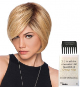 Layered Bob Wig by Hairdo, Christy's Wigs Q & A Booklet & Wide Tooth Comb colour SELECTED