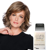 Allure Wig by Hairdo, Christy's Wigs Q & A Booklet & Wide Tooth Comb colour SELECTED