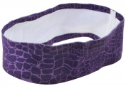 Capelli New York Ladies Snake Print Sport Headwrap Grey Combo One Size