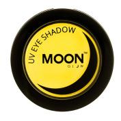 Moon Glow - Blacklight Neon Eye Shadow 5ml Yellow - Glows brightly under Blacklights / UV Lighting!