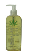 Hemp Oil Cleansing Gel - White Pear Healio Hemp Face and Body Cleanser - Soothing & Sensual Cleansing Gel with Hemp Oil, Avocado Oil & Herbal Extracts