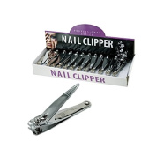 JT Cosmetics Nail Clipper Display - Case of 24