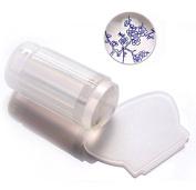 Yonger Soft Stamper and Scraper Set - DIY Nail Art - Stamping Tools White