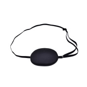 FCAROLYN Pirate Eye Patch , Real Silk,No Leakage, Smooth , Soft and Comfortable