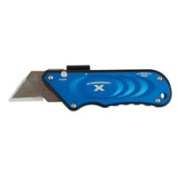 OlympiaToolsInternationalProducts Knife Utility Turbo X Blue, Sold as 1 Each
