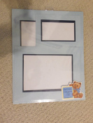 Hand Crafted Set of 3 Photo Matts (5x7), (8x10) and (11x14) Light Blue