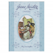 A4 Hard Cover Notebook - The Jane Austen Collection - 170 Pages - by Robert Frederick