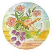 DENY Designs Cori Dantini Hedgie Round Clock, 30cm Round