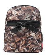 J & C Family Owned Camo Quilted 33cm Backpack