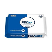Pro Care Personal Wipes Adult Disposable Washcloth Large - 20cm x 30cm