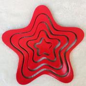 BININBOX 3D Little Star Decor For Kids Room Decal Sticker Wall Decoration