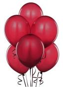 28cm Latex Balloons Burgundy Pkg/100