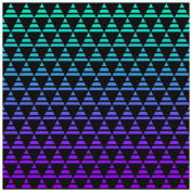 Vinyl Boutique Shop Craft Heat Transfer Blue and Purple Dark Ombre Heat Transfer Vinyl Sheets Heat Transfer Vinyl 0121-7