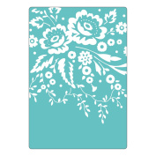 Sizzix Textured Impressions Embossing Folder - Floral Tapestry