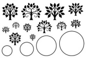 Cool Tools - Jewel Stamps - Tree of Life - Circle