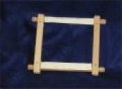 Elbesee 2H6R | Polished Hardwood Rotating 15cm Tapestry/Embroidery Frame