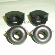 4 RUBBER FOOT CONTROL CUSHIONS 194407-002 SINGER FEATHERWEIGHT 221 222 301