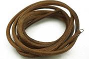 "70""(180cm) Leather Belt for Singer Treadle Sewing Machine Cowhide Belting 3/16"""