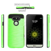 LG G5 Case,A-slim(TM)Hybrid Hard Shockproof Case Heavy Duty Protective Brushed Phone Rugged Armour Protector Cover for LG G5