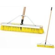 MintcraftProCompany Push Broom W/Brace 60cm Scrpr, Sold as 1 Each