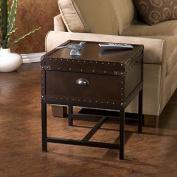 Harper Blvd Brookwood Espresso Storage End Table