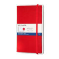Moleskine Paper Tablet Pen+, Large, Dotted, Red, Hard Cover