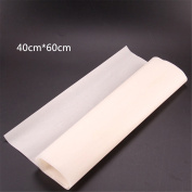 1 Pcs Greaseproof Oven Bakeware Baking Mat Pad Cooking Paper Kitchen Tool,L(40*60cm) by Crqes