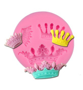 Crown Shape Silicone Fondant Cake Mould ,Ice Cube Trays ,Chocolate/Jello/Soap Embossing Mould Baking Moulds ,Creative Home Kitchen Baking Tools