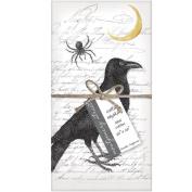 Montgomery Street Raven and Spider Cotton Napkins, Set of 4