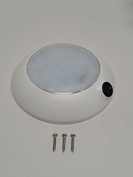 Pactrade Marine Boat RV Car TrucK LED Dome Light Warm White Surface Mount 12V
