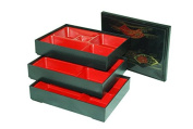 Set Of 3 Japanese Lunch Bento Boxes / Food Carrier / Food Storage & Organisation Container