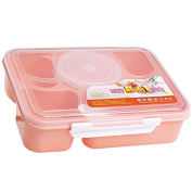 Wrisky New Microwave Bento Lunch Box + Spoon Utensils Picnic Food Container Storage Box
