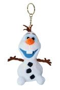 Disney Frozen Olaf Soft Plush 13cm Tall Keychain.