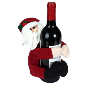 Welcomeuni Hold Towels & Hold Bottles Creative Home Of Santa Claus Snowman Doll Christmas