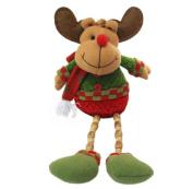 Welcomeuni Christmas Leg Old Cloth Doll Ornament