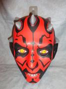 Darth Maul PVC Mask Kid Size Rubies Halloween Dress Up Star Wars